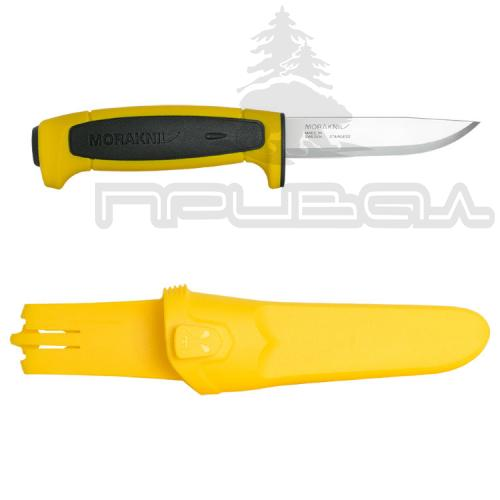 Нож MoraKNIV BASIC 546 Yellow/Black (Швеция) ст.12с27