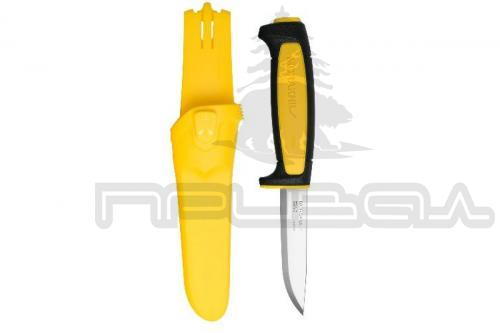 Нож Morakniv Basic 511 Black/Yellow (Швеция) ст.12с27